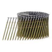 Steel Framing Nail Coil - 3 1/4'' - Bright - Box of 4000