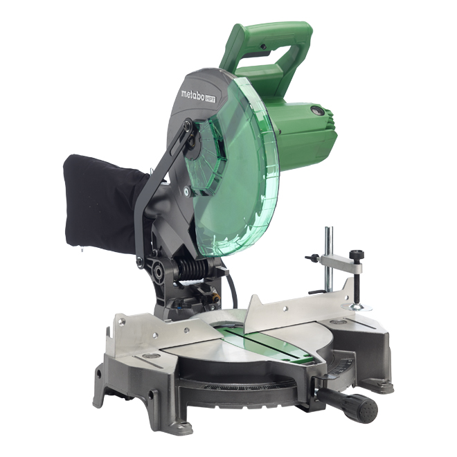 Metabo HPT Single Bevel Compound Mitre Saw - 10'' - 15 A