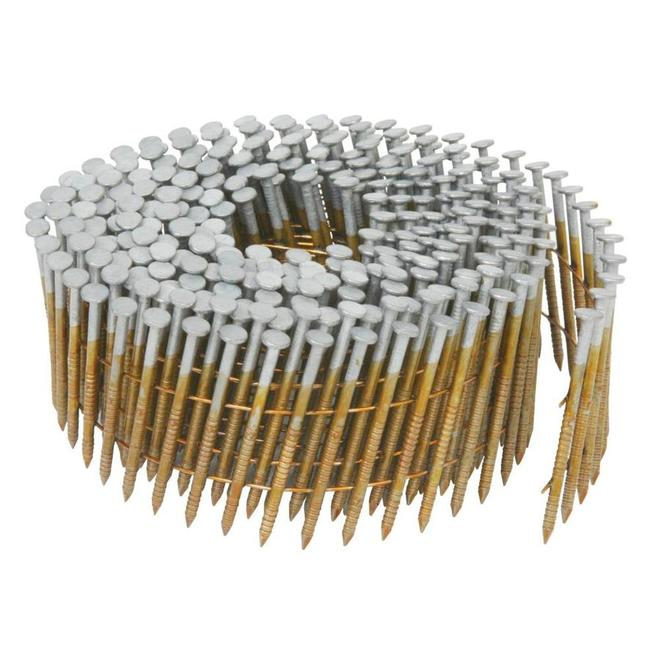 Metabo HPT Galvanized Steel Siding Nails - 15° Coil - 2-in - 3600 Nails