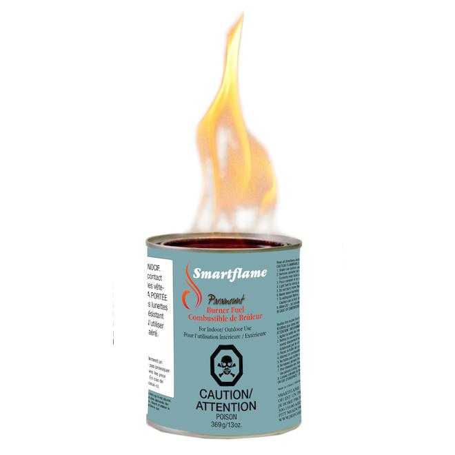 Combustible pour brûleur Paramount SMARTFLAME, 11 oz