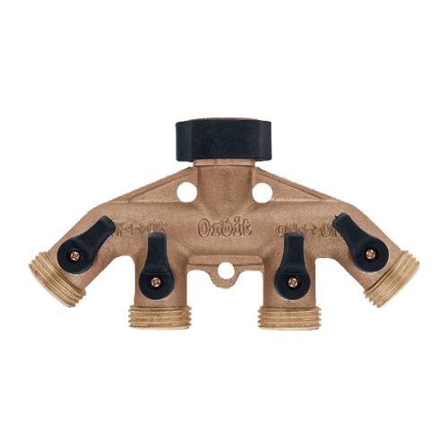 Brass Hose Faucet Manifold