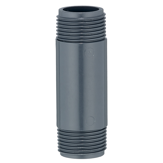 "Riser Tubing - 3/4"" x 3"" - Plastic - Black"