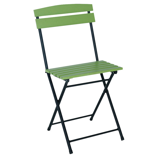 Folding Bistro Chair - Assorted Colors