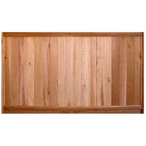 Solid Cedar Fence Panel 17008840 Rona