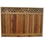 Fence Panel - 5'6 x 8' - Red Cedar