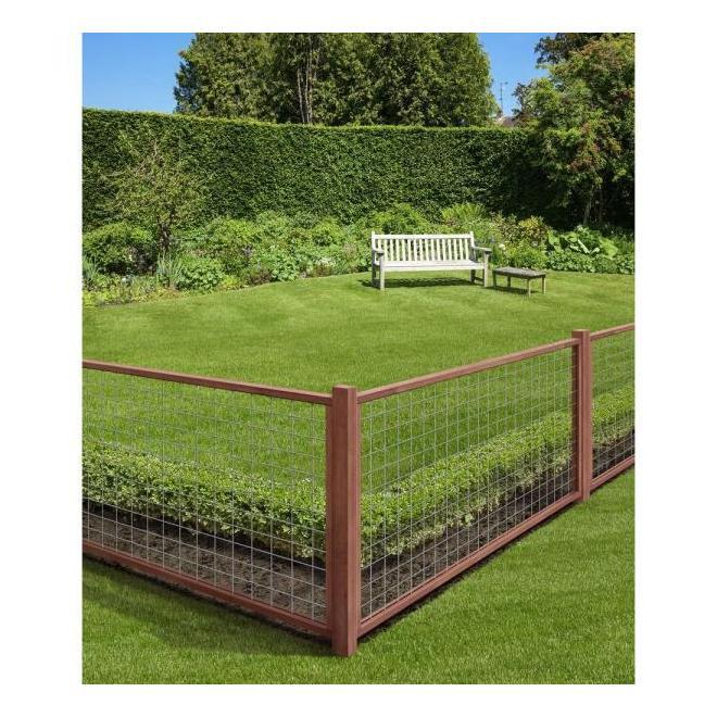 Panneau pré-assemblé pour jardin, 96 po x 48 po x 2 po