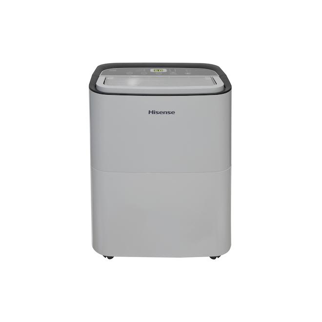 Hisense 2-Speed Dehumidifier - Adjustable Humidistat - LED Digital Control - 35-pt