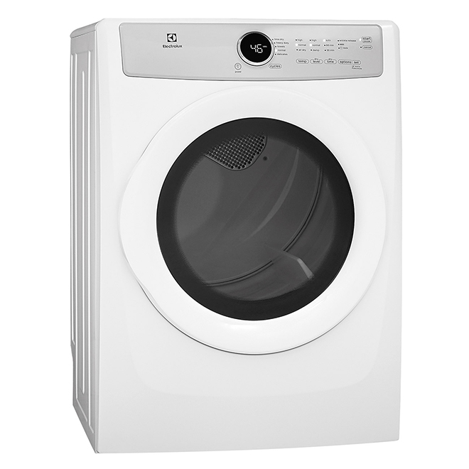 Electric Dryer with Gentle Tumble(TM) - 8.0 cu.ft - White