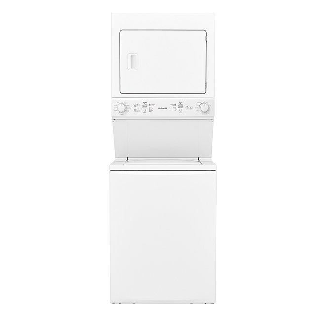 "Electric Laundry Center - 3.9 and 5.5 cu. ft. - 27"" - White"
