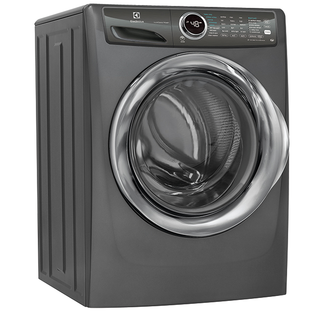 Front Load Washer - Perfect Steam/LuxCare - 5 cu. ft. - Titanium