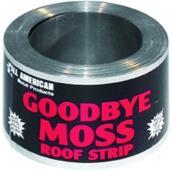 Rouleau en zinc pour toiture « Goodbye Moss », 50 pi