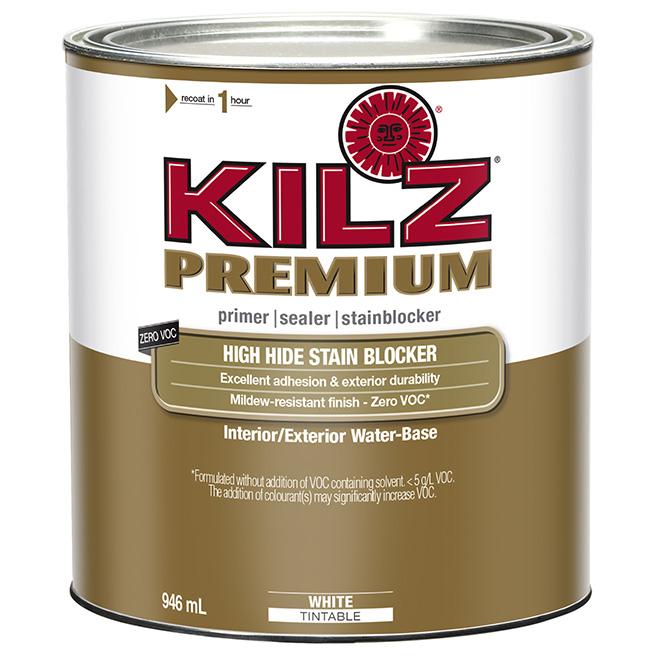 Kilz(R) Premium Interior/Exterior Latex Primer Sealer - 946ml