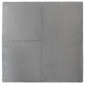 "Foam Floor Mat - Antifatigue - 24"" x 24"" - Grey"