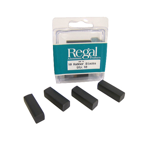 Railing Glass Panel Rubber Blocks - 10 Pack