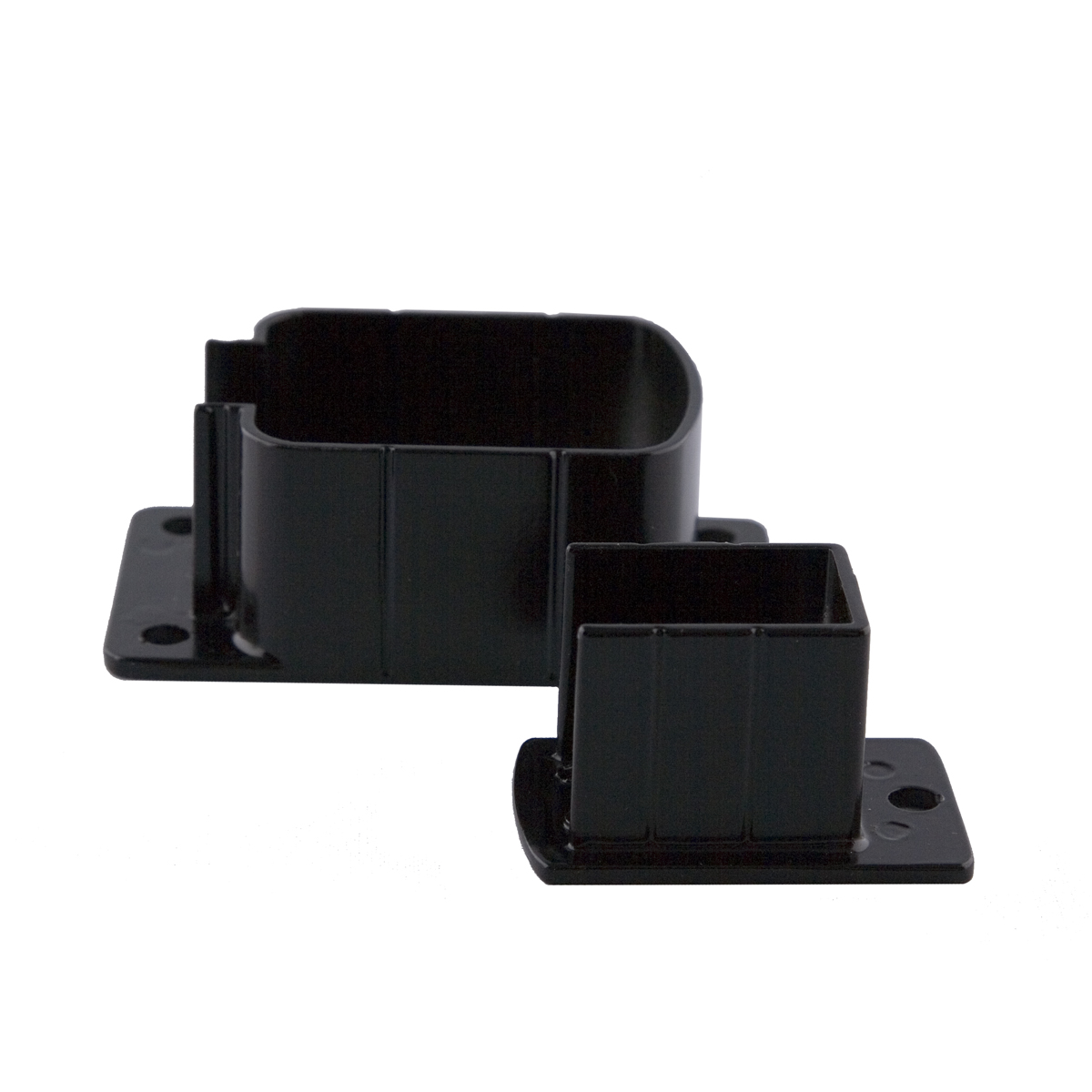 Railing Wall Brackets - Black
