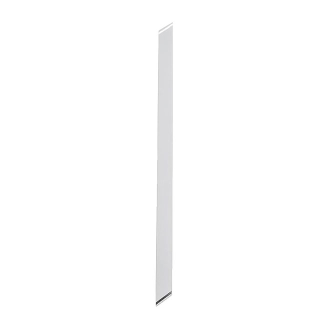 Straight Wide Stair Baluster - Aluminum - White - 6/PK