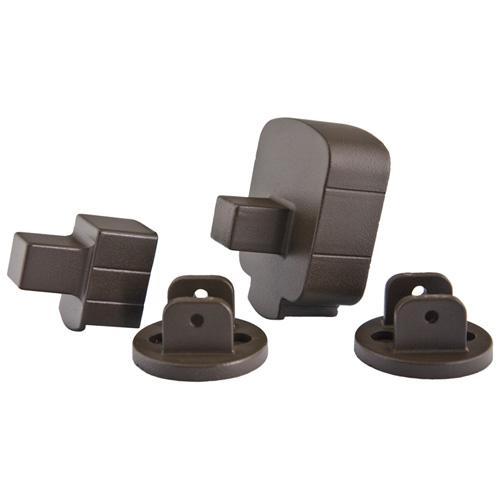 Supports angulaires de rampe, bronze