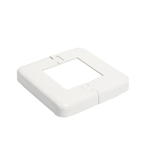 Railing Base Plate Cover - White