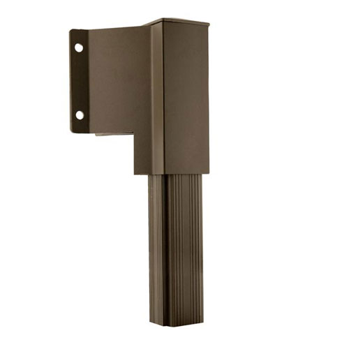 Sidemount Railing Bracket - Bronze