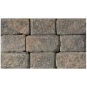 Pierre pour mur, 4 po x 8 po, romain, gris Sierra