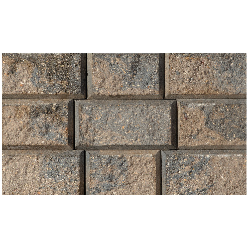 """StackStone"" Wall Stone 4"" x 8"" - Grey"