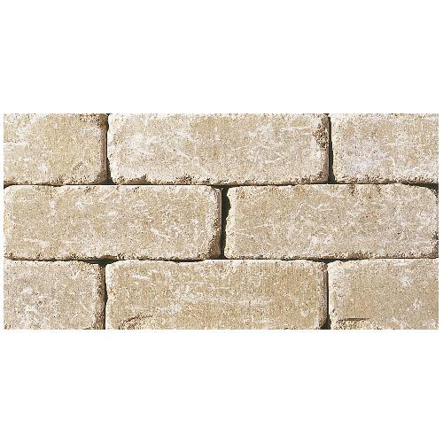 Pierre de taille pour mur « StackStone » 8 x 12 po, désert