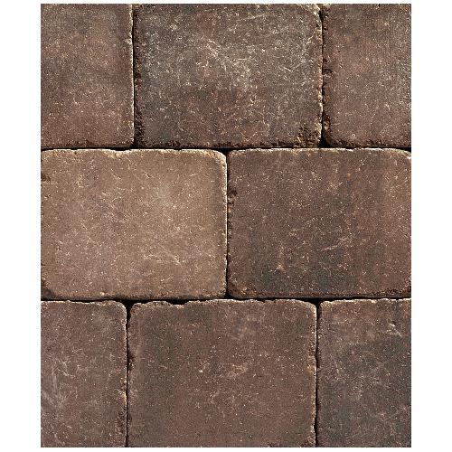 Pavé « Roman » 8 1/4 po x  10 po, brun antique