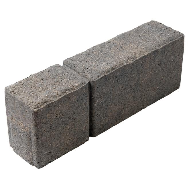 Bordure de béton, 4'' x 12'', gris sierra