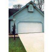Colonial-Style Garage Door - 8' x 7' - White