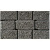 Couronnement pour mur « StackStone/Roman », charbon