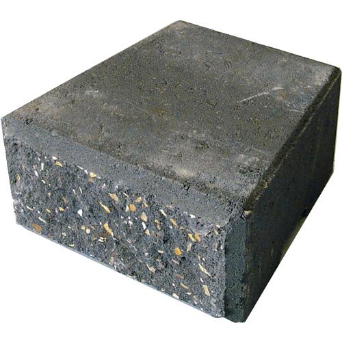 "StackStone Wall Cap 4"" x 8"" - Charcoal"