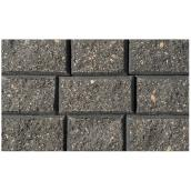 "StackStone Wall Cap 4"" x 8"" - Red/Black"