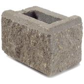 Allan Block Jumbo Retaining Wall Corner - Grey
