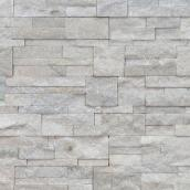 "Venise Decorative Stone - 7"" x 15.75"" - White"