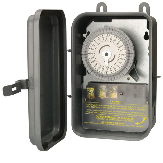 Woods Outdoor Mechanical Timer 59101R