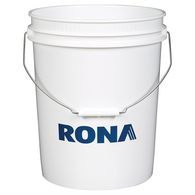 Rona All-Purpose Round Pail - 18.9 L - White