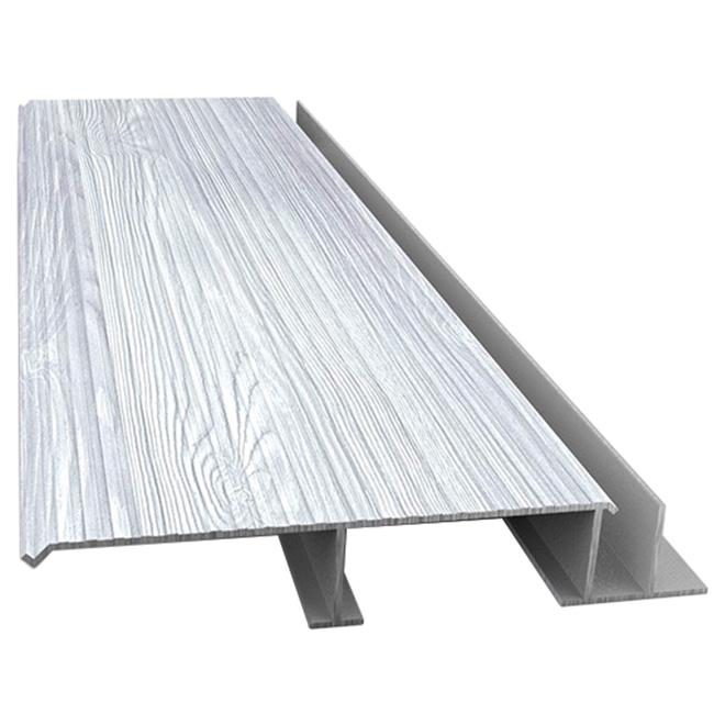 Aluminum Board Decking - Barnwood Style - 12'