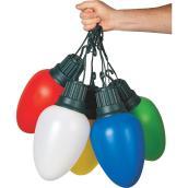 Light Set - 5 LED C9 Lights - Multicolour
