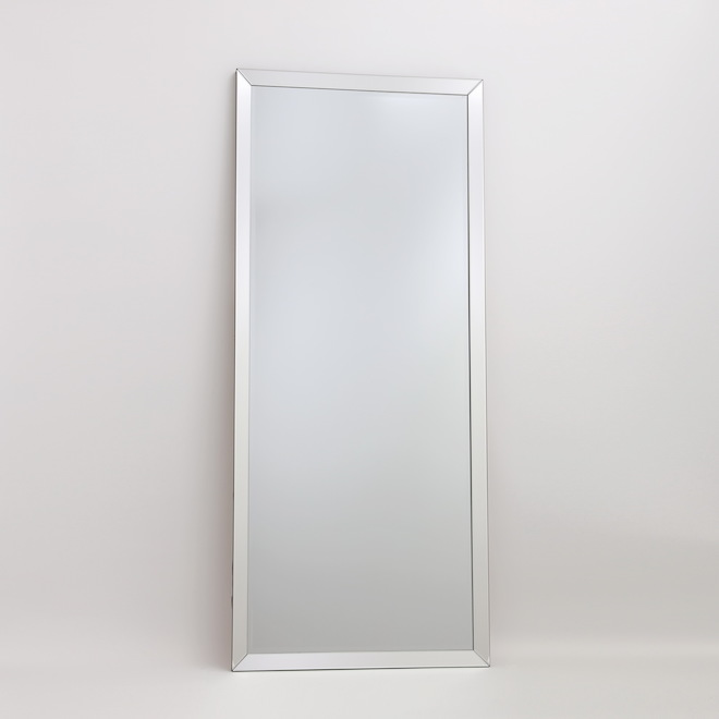 Vanity Series 30-in x 70-in Rectangle Clear Glass Mirror