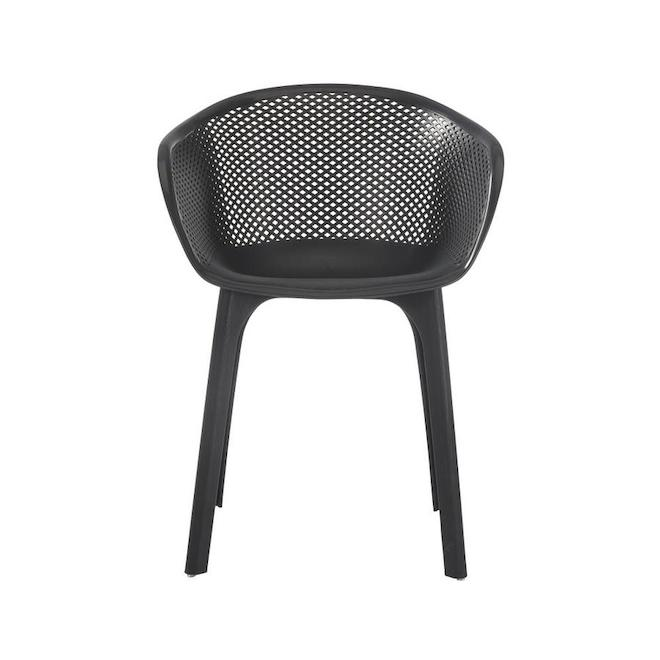 Terraza 2-Set Black Dining Chairs