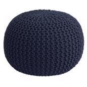 Pouf en tricot, 20