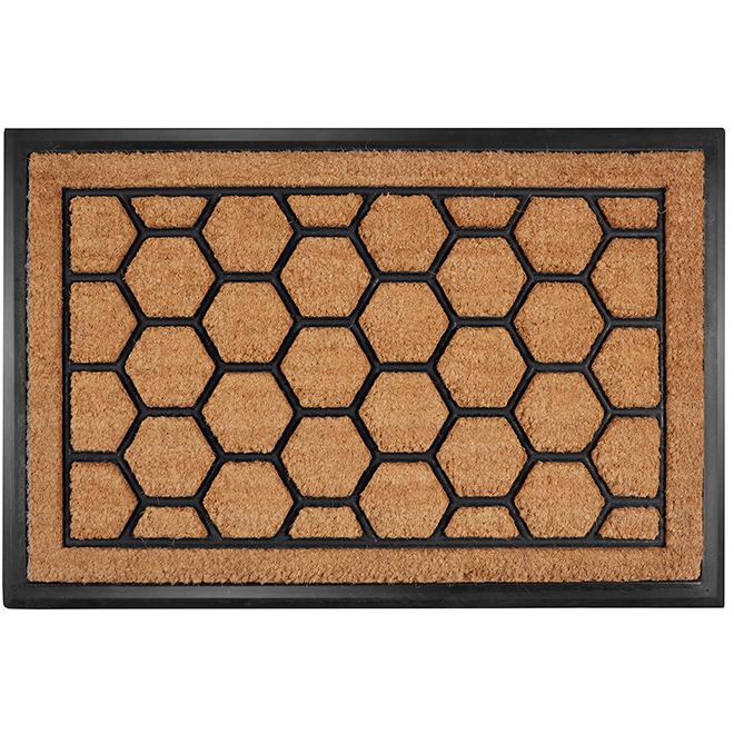 """FHE Entrance Mat - Honeycomb Style - 24"""" x 36"""""""