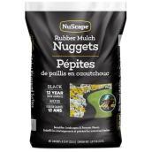 NuScape Mulch - Rubber Nuggets - 22.6 L - Black