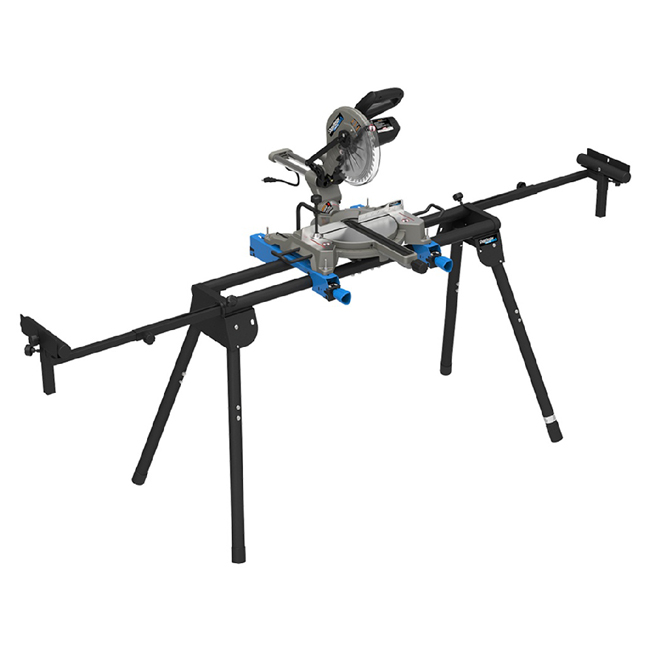 """Compound Sliding Mitre Saw and Stand - 47° - 15A - 10"""""""