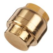 End Stop - Brass - 1/2''