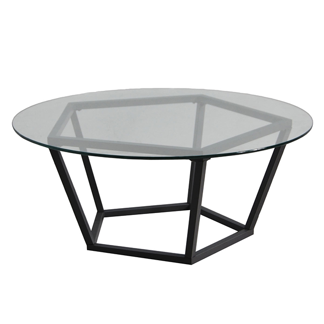 Patio Coffee Table With Glass Top