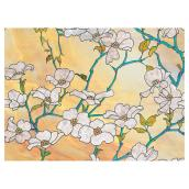 Static-Cling Window Film - Dogwood - 11.5