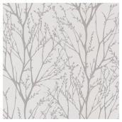 "Wallpaper - Willow Forest- 20"" x 33"" - Grey"