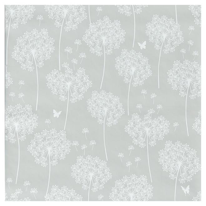 "Wallpaper- Dandelion - 20.5"" x 18' - Taupe"