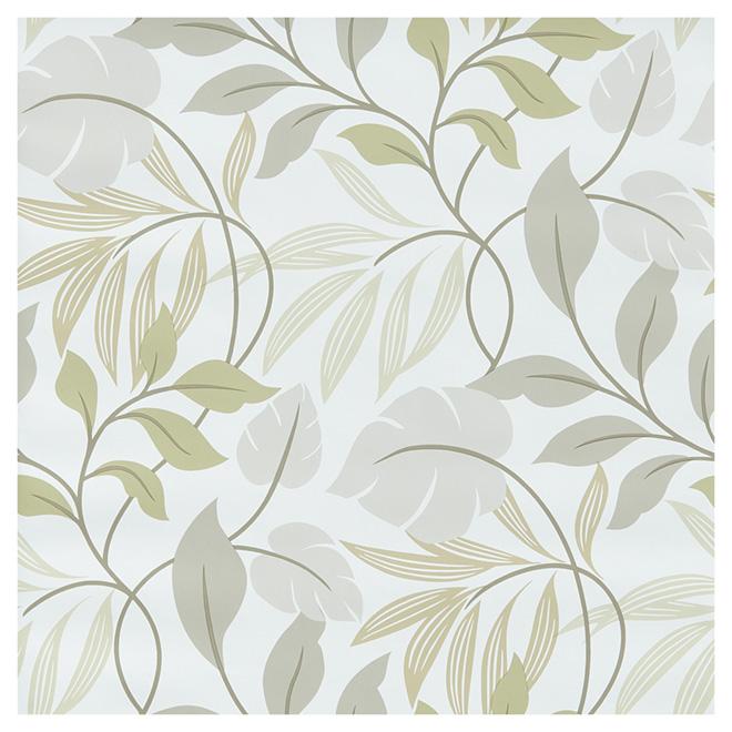 """Wallpaper - Meadow - 20.5"""" x 18' - Green"""